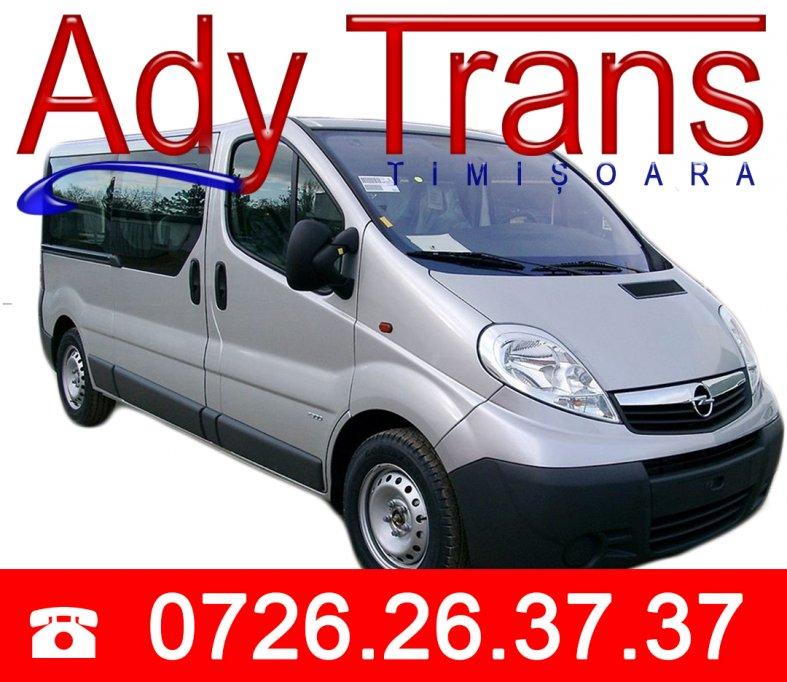 Zilnic !!! Transport persoane la adresa in Germania si Austria