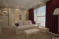 Apartament decorat in stil clasic