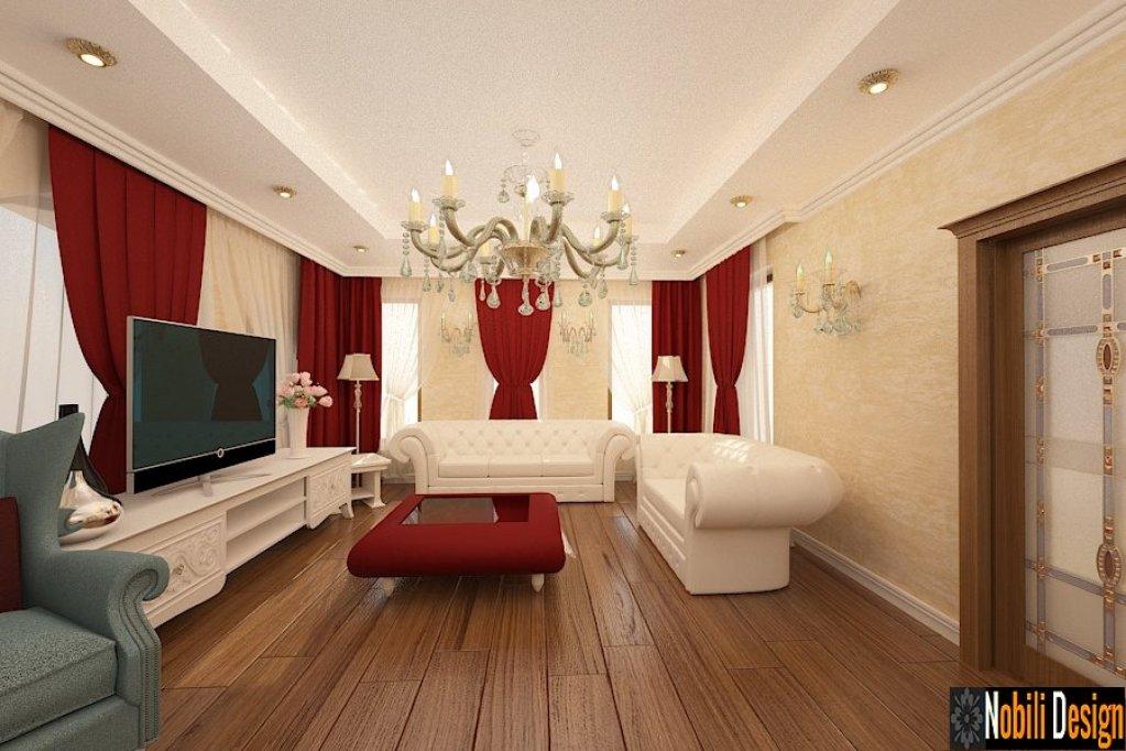 Servicii de design interior pentru case si vile in stil clasic