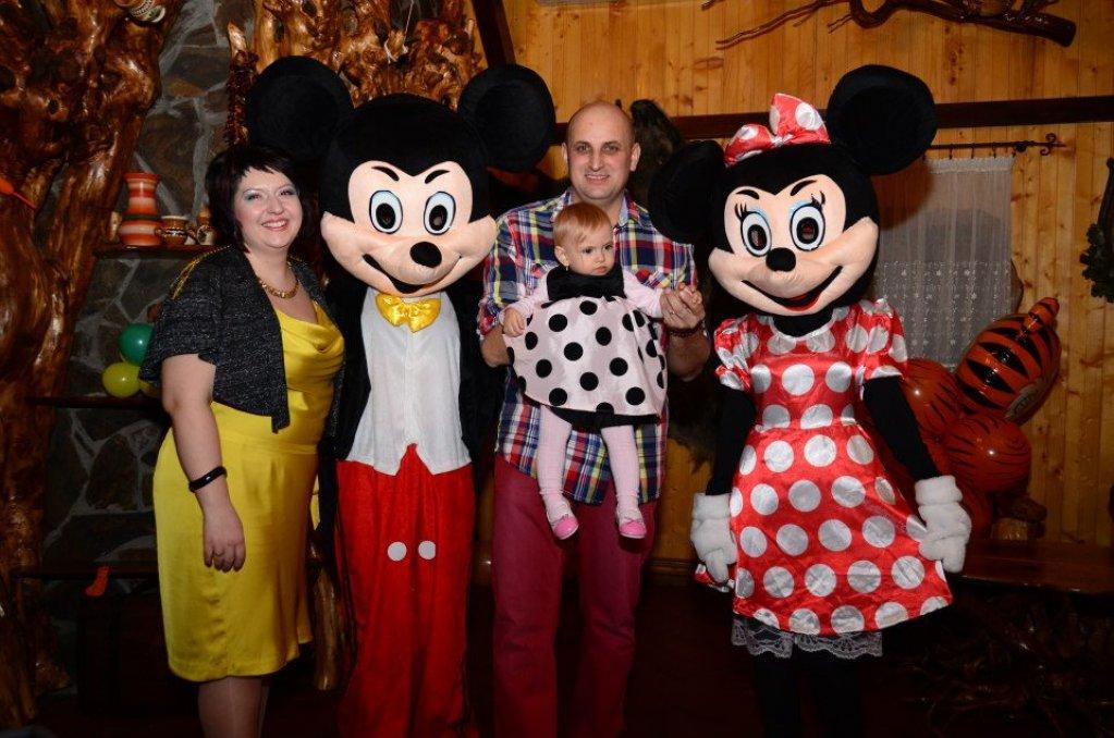Mascotele Minnie si Mickey