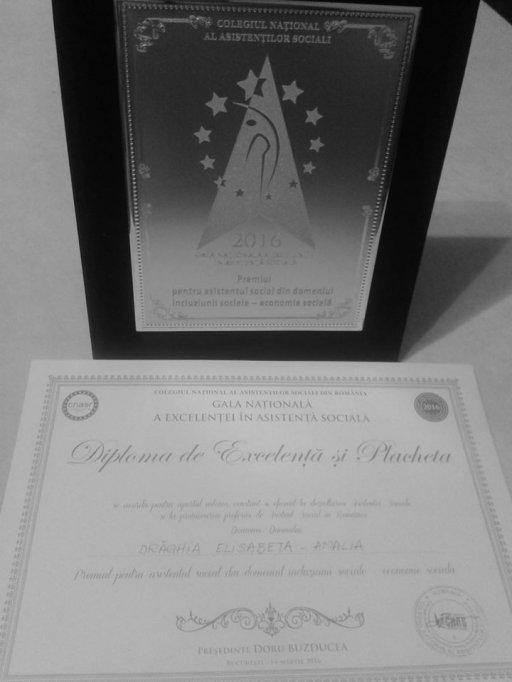 Amalia Drăghia - recunoaştere meritată la nivel naţional