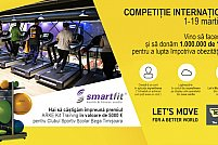 Smartfit susține Let's move for a better world by Technogym
