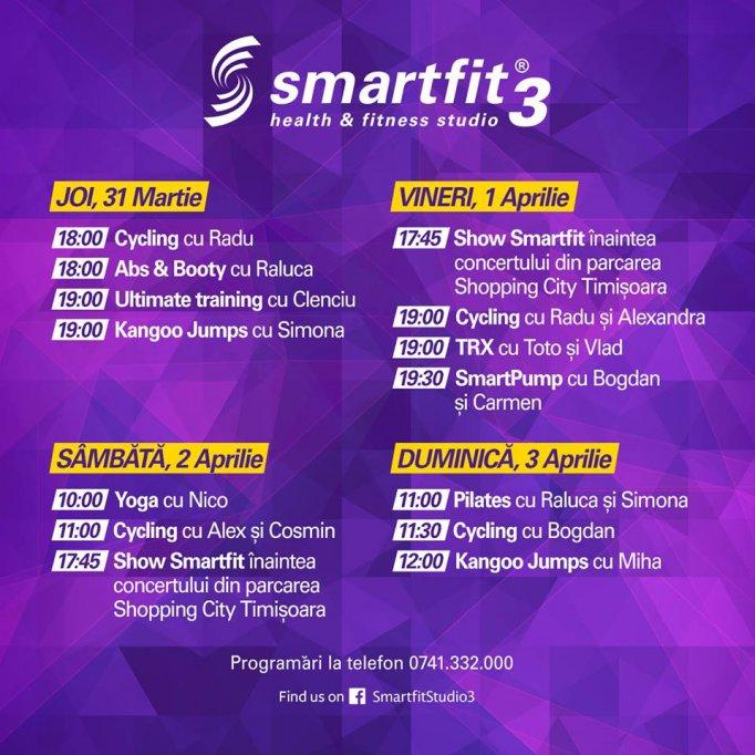 Fii primul la SmartFit3!