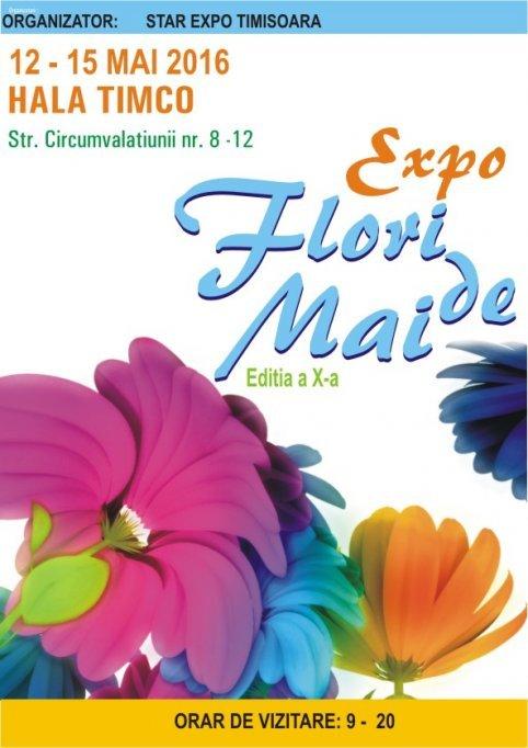 Expo flori de mai 2016