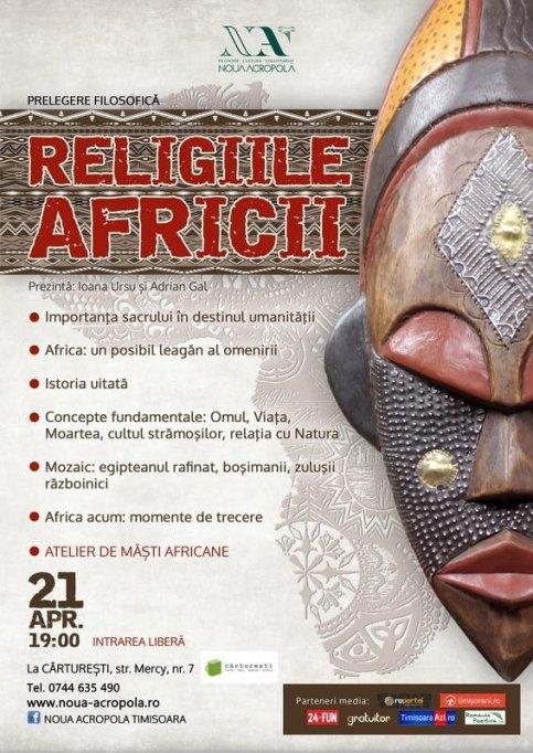 Prelegere filosofica: Religiile Africii