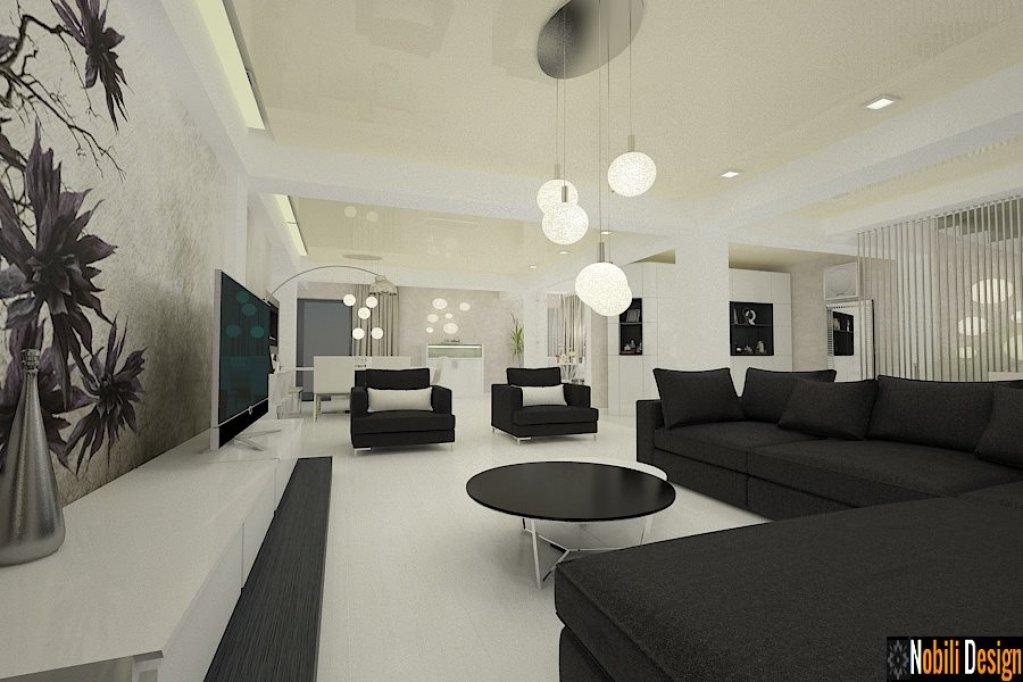 Servicii de amenajari interioare pentru case moderne by for Case moderne design