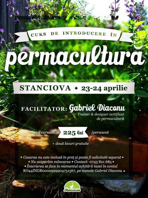 Curs de introducere in permacultura la Stanciova