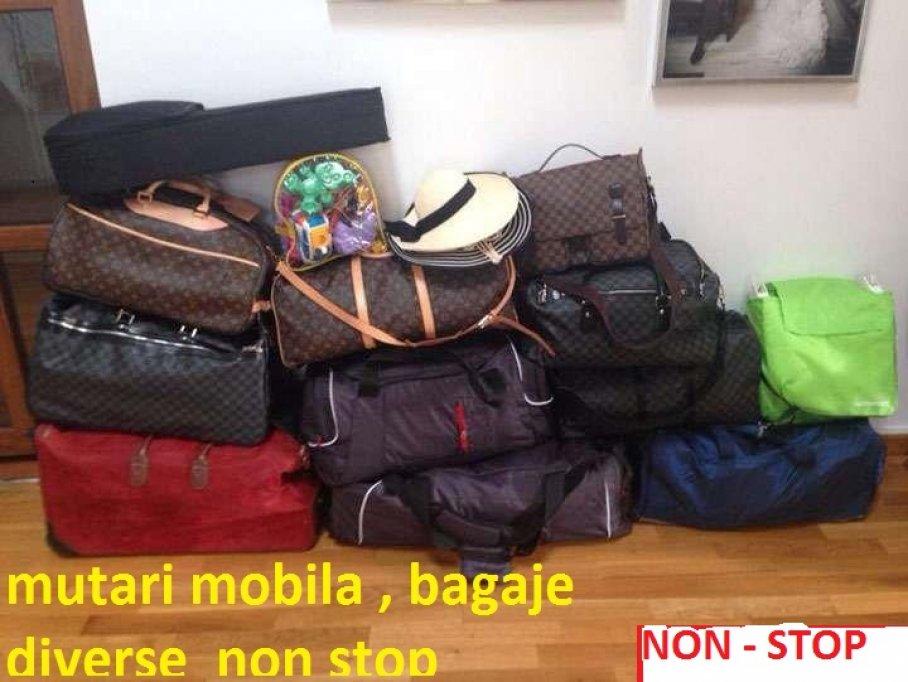 Transport marfa - Mutari mobila - bagaje _Diverse -Oriunde-Oricand-Orice !