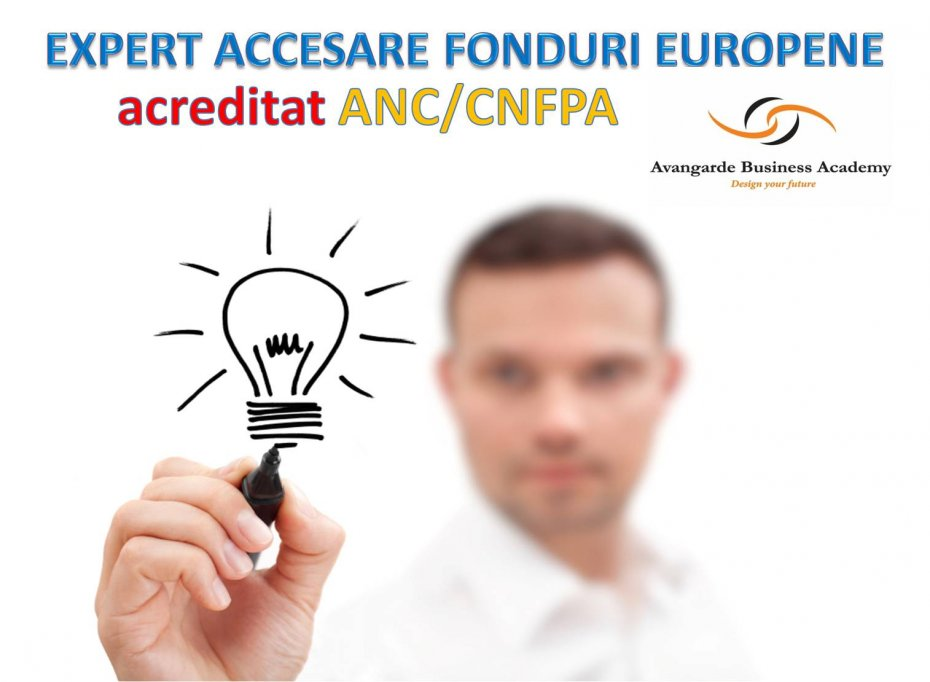 Curs Expert Accesare Fonduri Structurale Timisoara - acreditat ANC