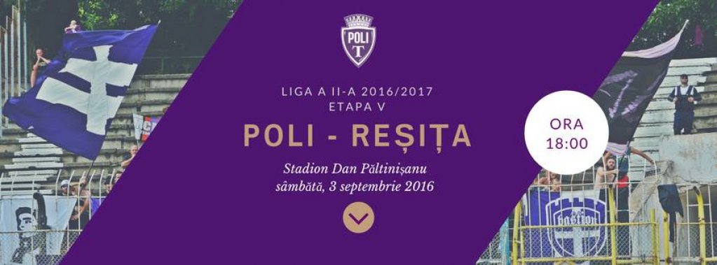 ASU Politehnica Timisoara - Metalul Resita