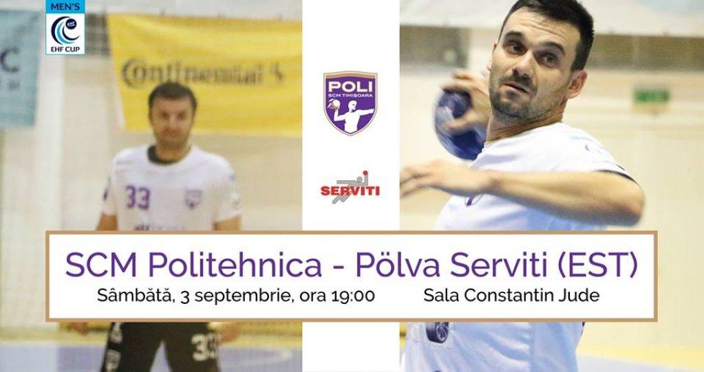 SCM Politehnica - Pölva Serviti