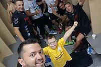 """Copiii cu nevoi speciale de la Fundația de Abilitare """"Speranța"""" fac cunoștință cu handbalul"""