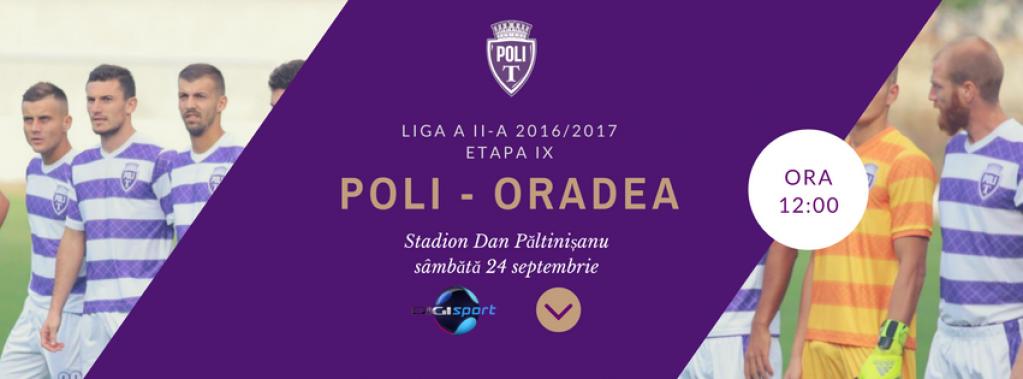 ASU Politehnica Timisoara - Luceafarul Oradea