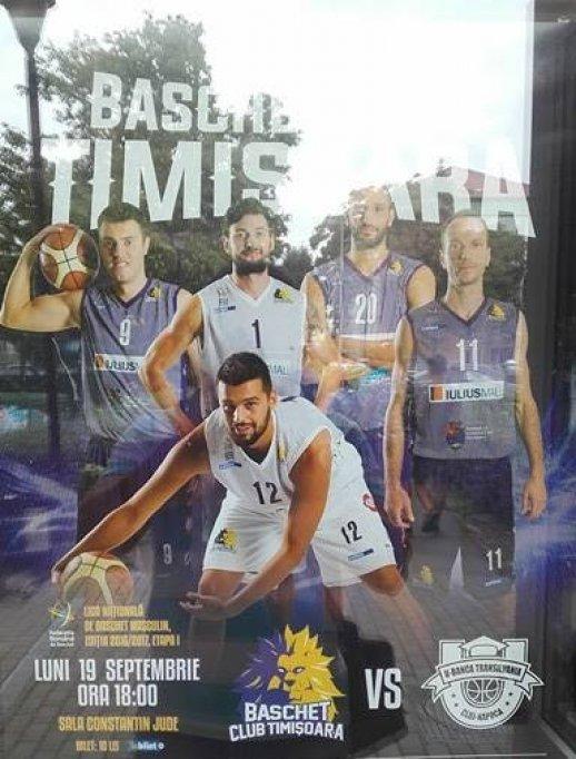 BC Timisoara - 'U' - Banca Transilvania Cluj Napoca