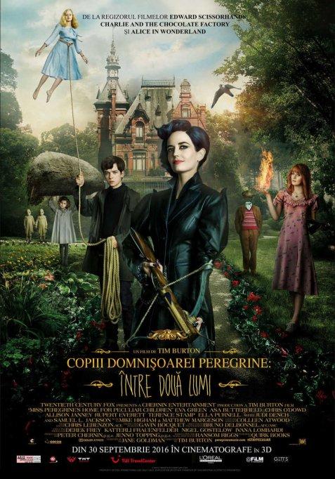 Copiii Domnisoarei Peregrine: Intre doua lumi 3D
