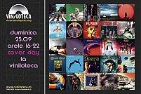 """Cover day - expozitie de fotocolaje """"cover rock"""" la Viniloteca"""