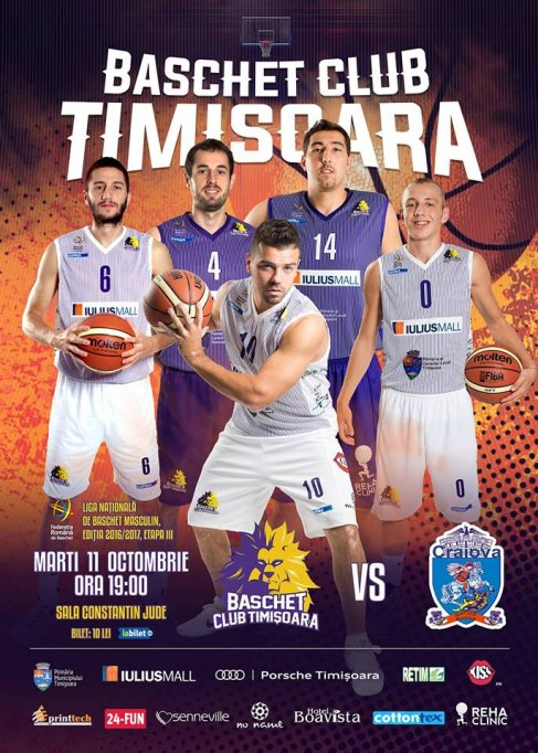 BC SCM Timisoara - SCM U Craiova
