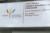 Cabinet de Psihologie Borsi Maria