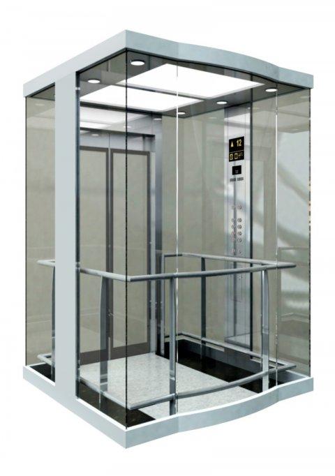 Prin lifturile din sticla de la Securit International lumea se vede diferit