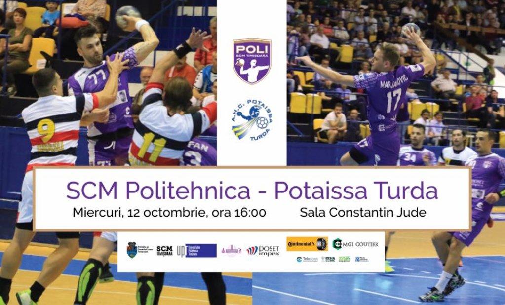 SCM Poli Timisoara - Potaissa Turda