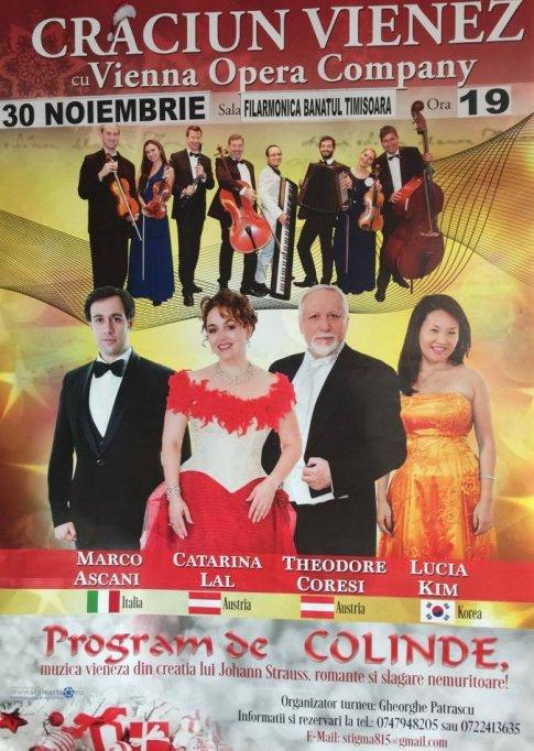 Craciun Vienez cu Vienna Opera Company