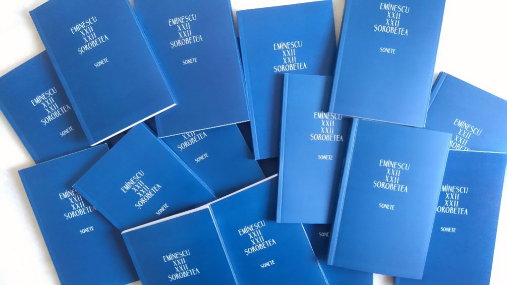 Lansarea volumului de poezie Eminescu XXII / XXII Sorobetea. Sonete - 22