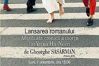 Gheorghe Săsărman lansează la Timișoara cel mai nou roman