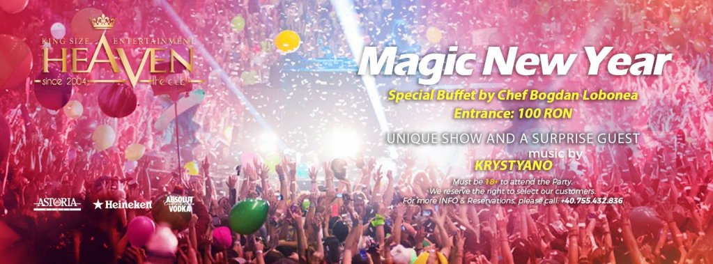MAGIC New Year - with Krystyano & Special Guest