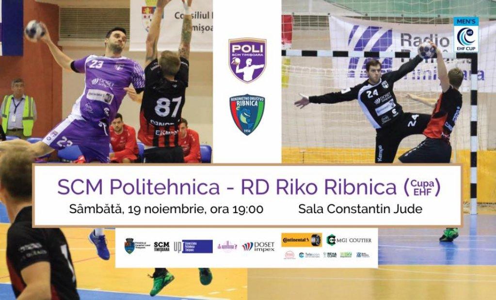 SCM Poli Timisoara - RD Riko Ribnica