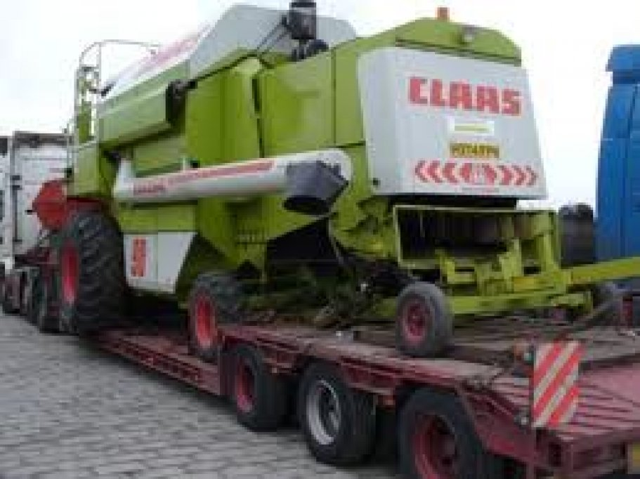 Transport combina Lexion