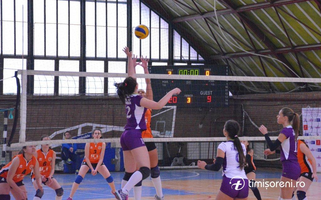 CSU Politehnica Timisoara 3-0 ProVolei Arad