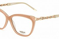 Ochelari de vedere Baldinini femei BLD1567 Roz Bej
