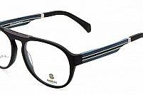 Ochelari de vedere Baldinini femei BLD1575 Negru Albastru