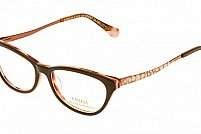 Ochelari de vedere Emilia Line femei IV_62-005 Negru Caramel
