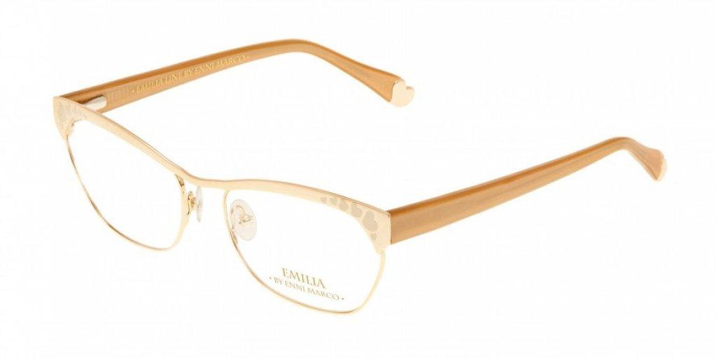 Ochelari de vedere Emilia Line femei IV_62-006 Auriu Bej