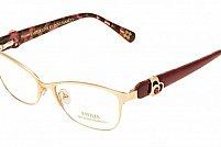 Ochelari de vedere Emilia Line femei IV_62-007 Auriu Visiniu Inchis