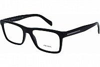 Ochelari de vedere Prada Barbati PR06RV - culoare Neagra