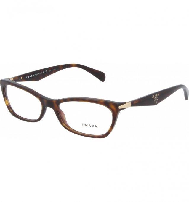 Ochelari de vedere Prada Dama PR15PV - culoare Maro
