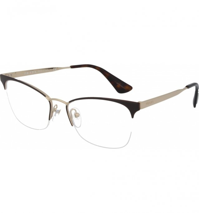 Ochelari de vedere Prada Dama PR65QV - culoare Aurie