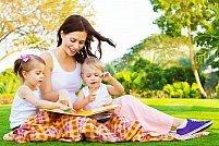 Programul Mama si copilul - arte plastice distractive