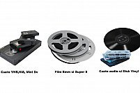 Transfer casete video, audio si Film 8mm pe DVD