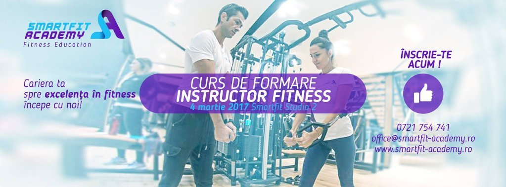 Curs autorizat Instructor Fitness