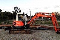 Kubota mini excavator Kx161-3a
