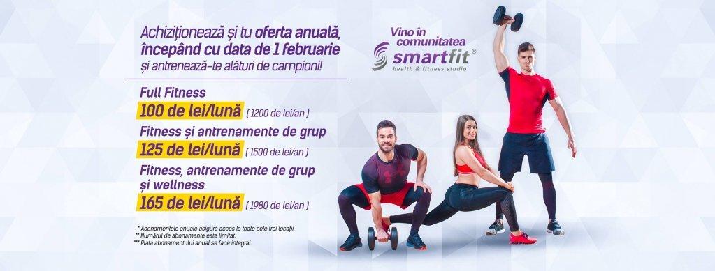 Oferta lunii februarie la SmartFit