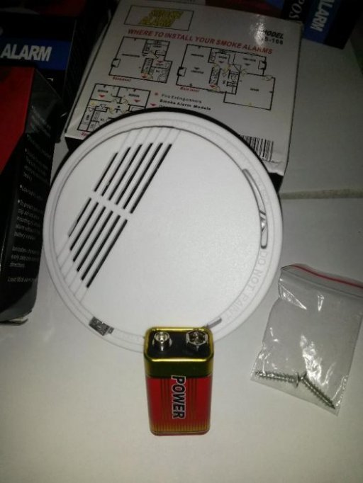 Vand detector de fum Wireless cu alarma 85dB inclusa