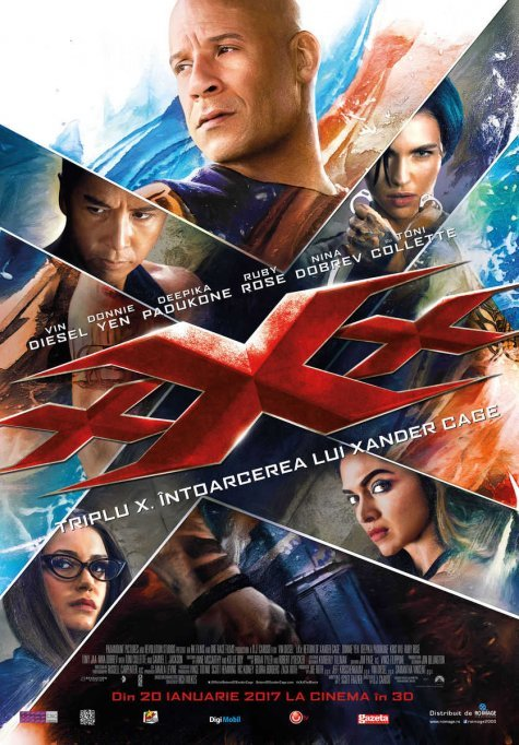 Triplu X: Intoarcerea lui Xander Cage 3D IMAX