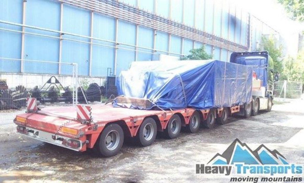 Transport agabaritic la nivel inalt cu heavy transports