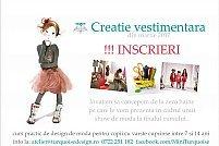 Curs creatie vestimentara pentru copii