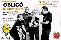 Spectacol de improvizație teatrală cu Trupa Obligó