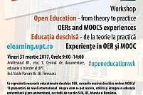 Workshop Educatia deschisa – de la teorie la practica